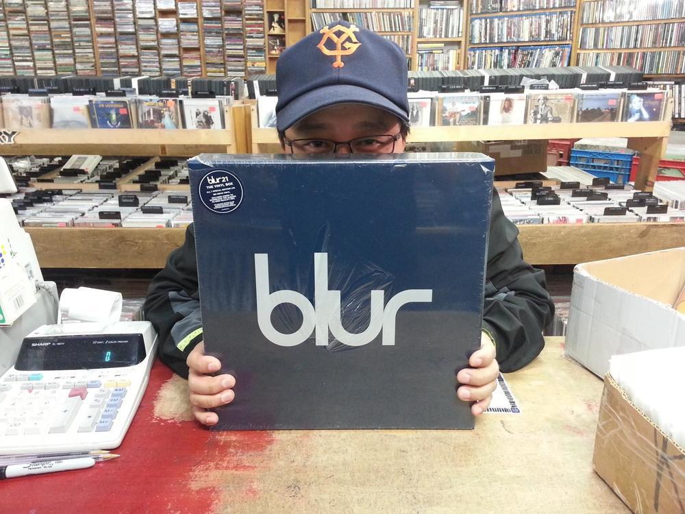 Blur Vinyl Box.