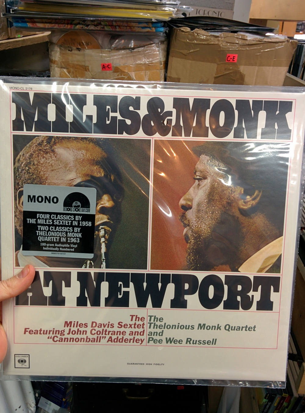 Miles and Monk at Newport - $19.99