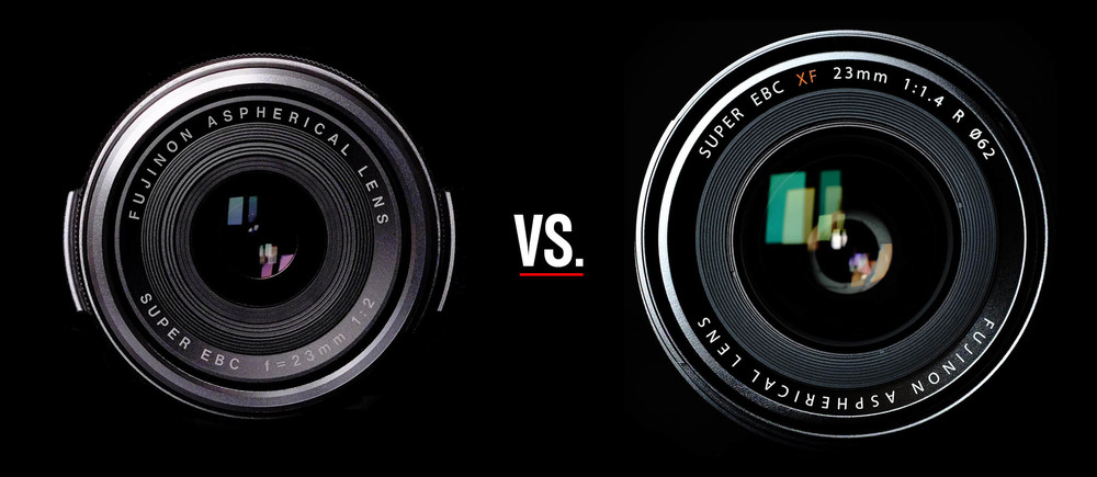 Fuji's X100S vs. the FUJINON XF 23mm ƒ/1.4