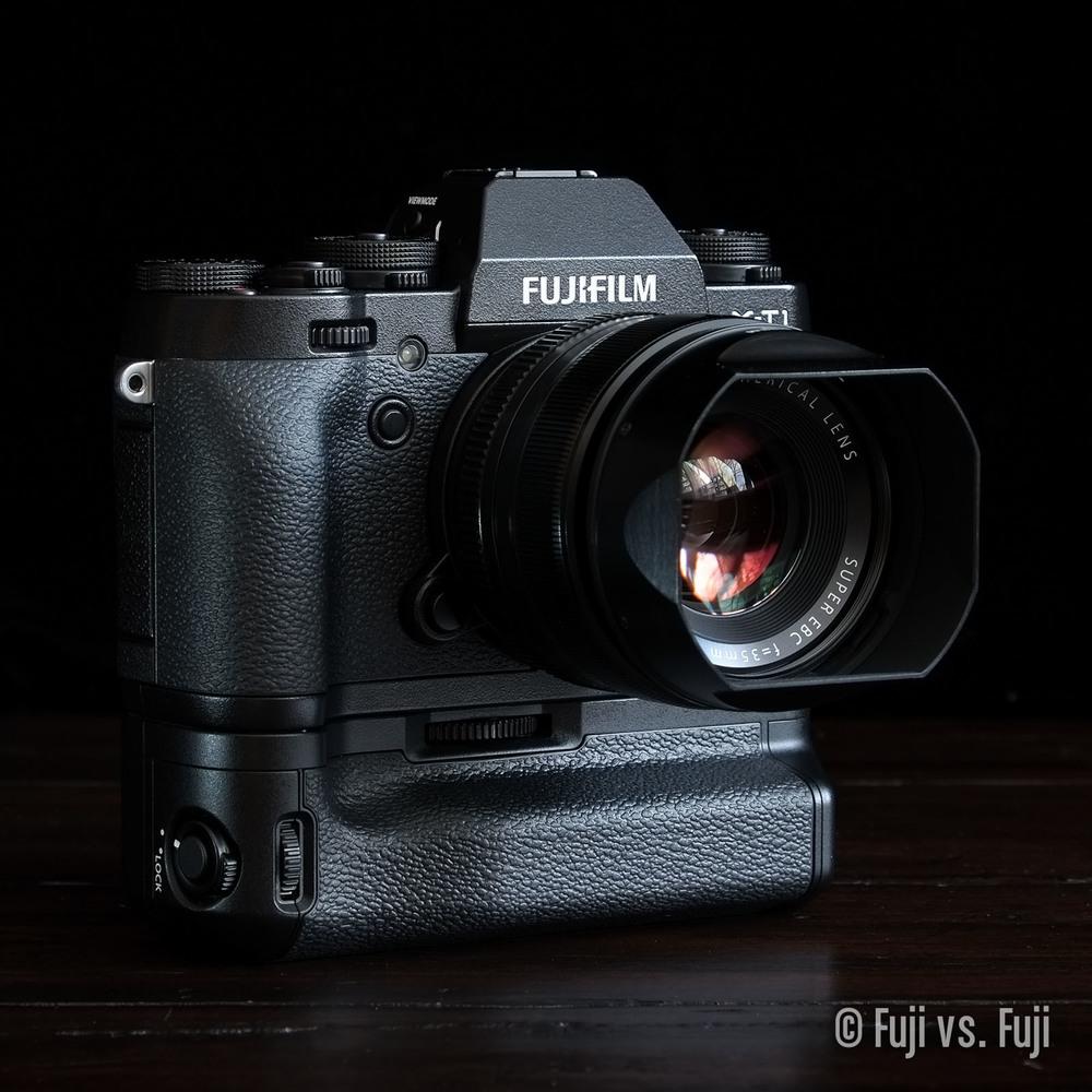 Fuji Fujifilm X-T1 35mm f/1.4 VG-XT1 Vertical Grip.jpg