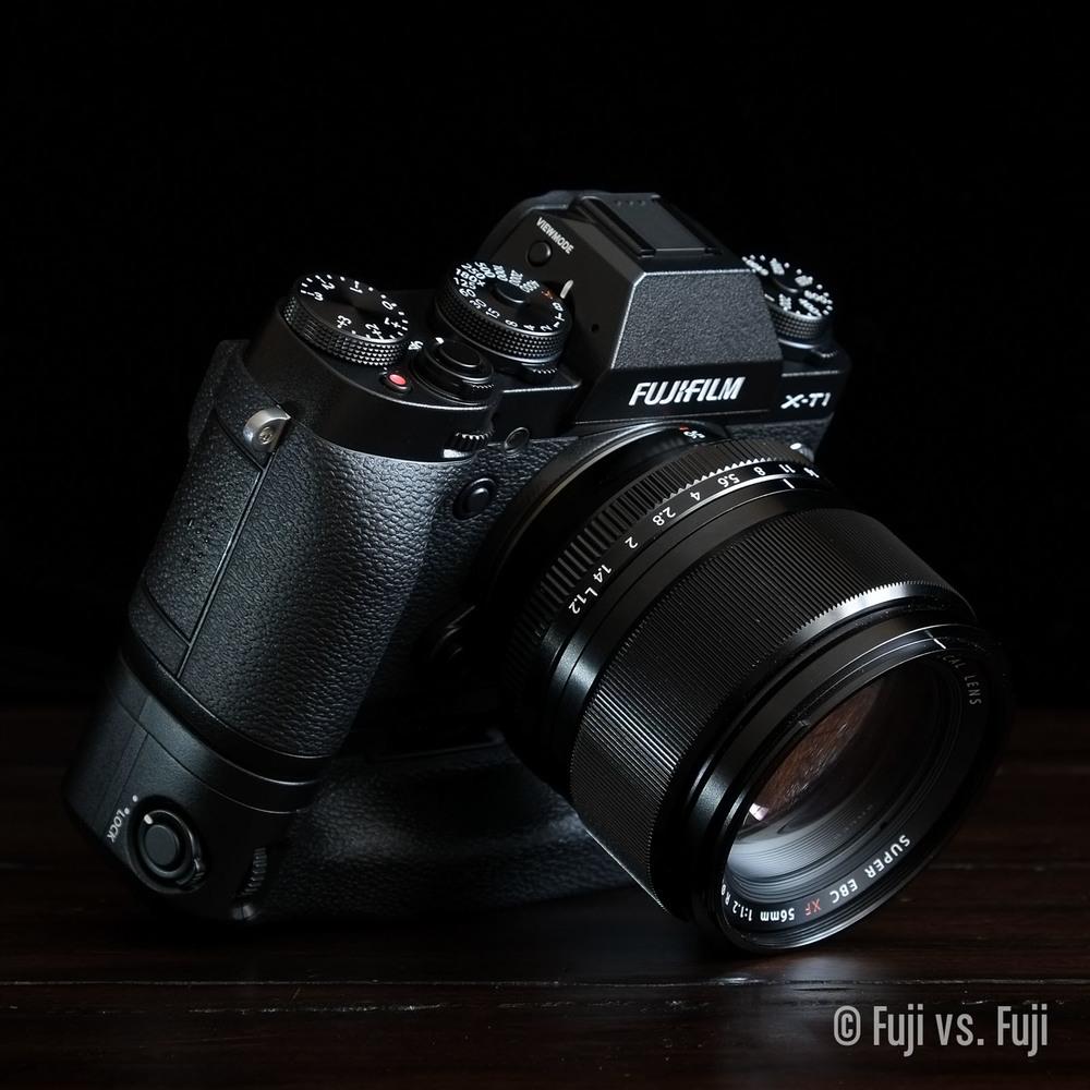 Fuji Fujifilm X-T1 56mm f/1.2 VG-XT1 Vertical Grip.jpg