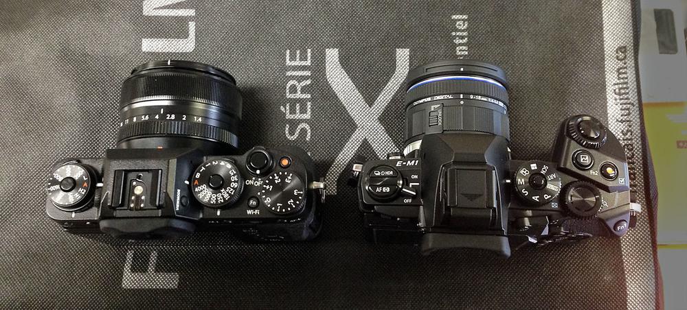 Fuji Fujifilm X-T1 vs OMD E-M1.jpg
