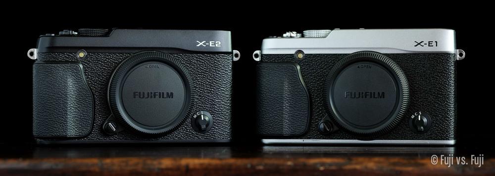 Fuji's X-E1 and X-E2