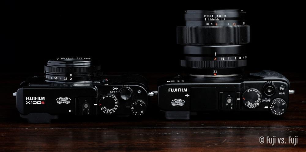 Fuji X100(S/T) vs. 23mm F/1.4