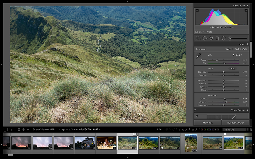 Lightroom's Develop Module