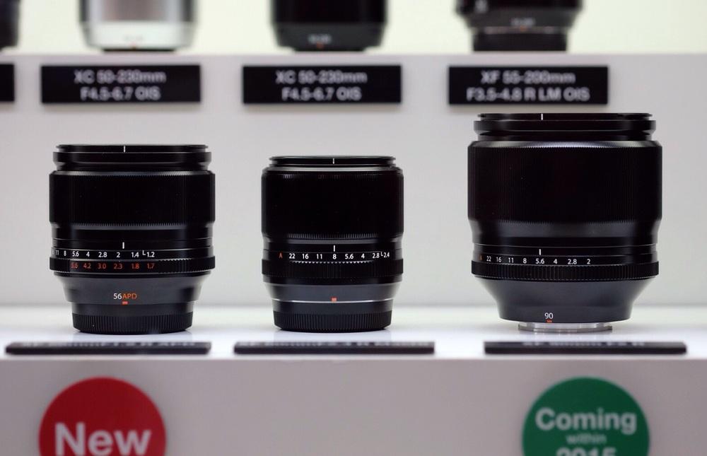 Fuji Fujifilm XF FUJINON 56mm f1.2 APD 90mm f2.jpg