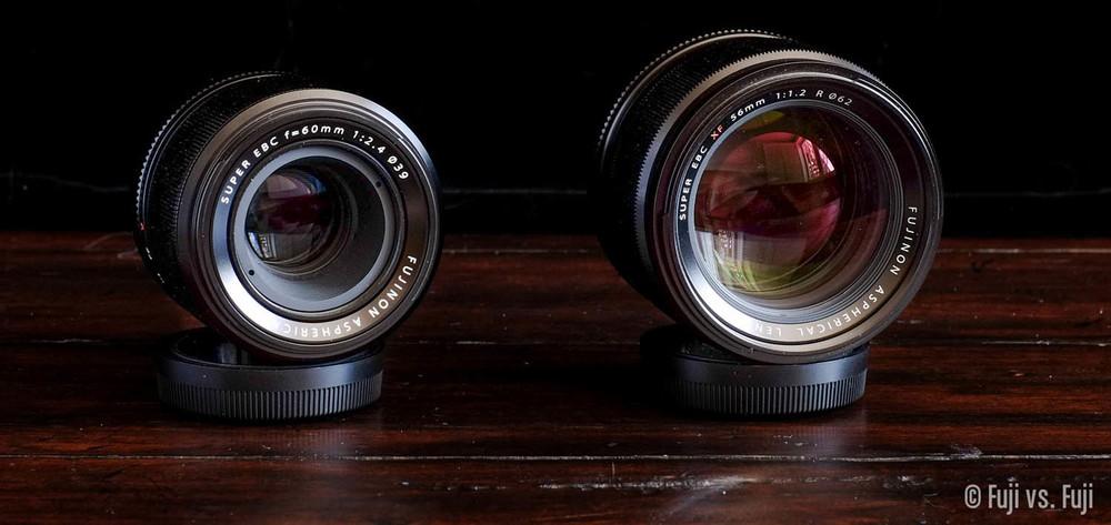 Fuji Fujifilm 60mm f/2.4 Macro 56mm f/1.2.jpg