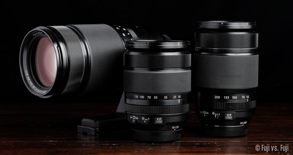 Fuji Fujifilm 18-135mm 50-140mm 55-200mm.jpg