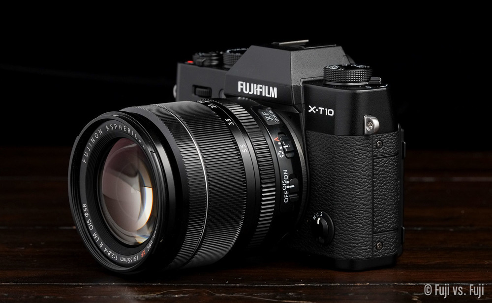 Fuji's X-T10 with the Kit Lens I'd choose if I were a buyer