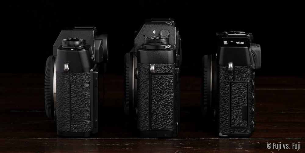 FUJI X-T10, X-T1, AND X-E2 other SIDE VIEW