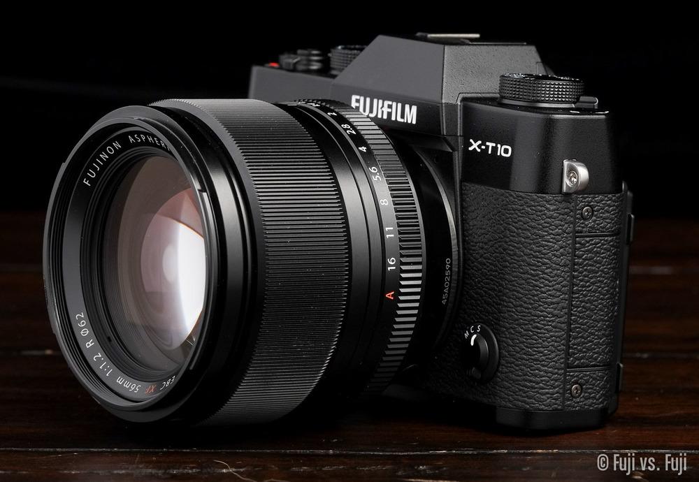 Fuji X-T10 + XF 56mm f/1.2