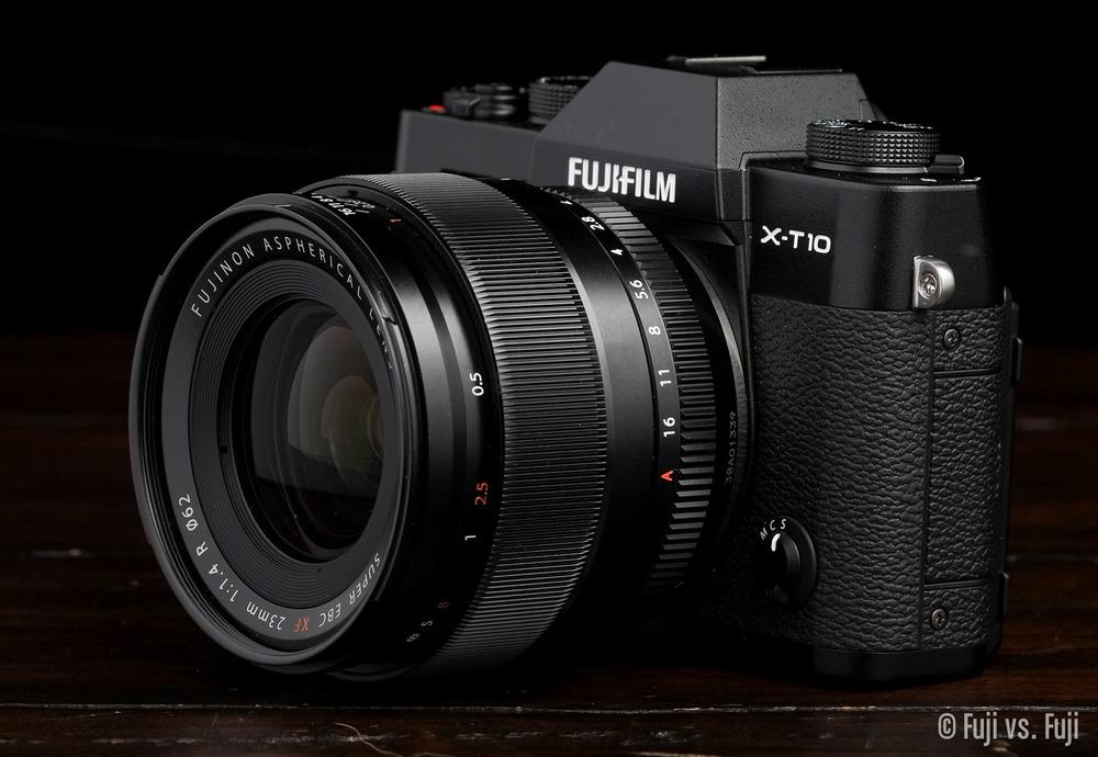 Fuji X-T10 + XF 23mm f/1.4