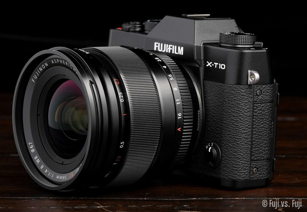 Fuji X-T10 + XF 16mm f/1.4