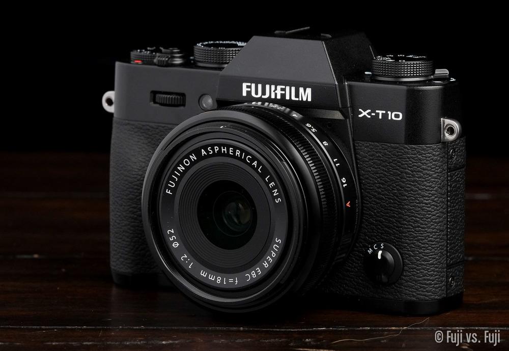 Fuji X-T10 + XF 18mm f/2
