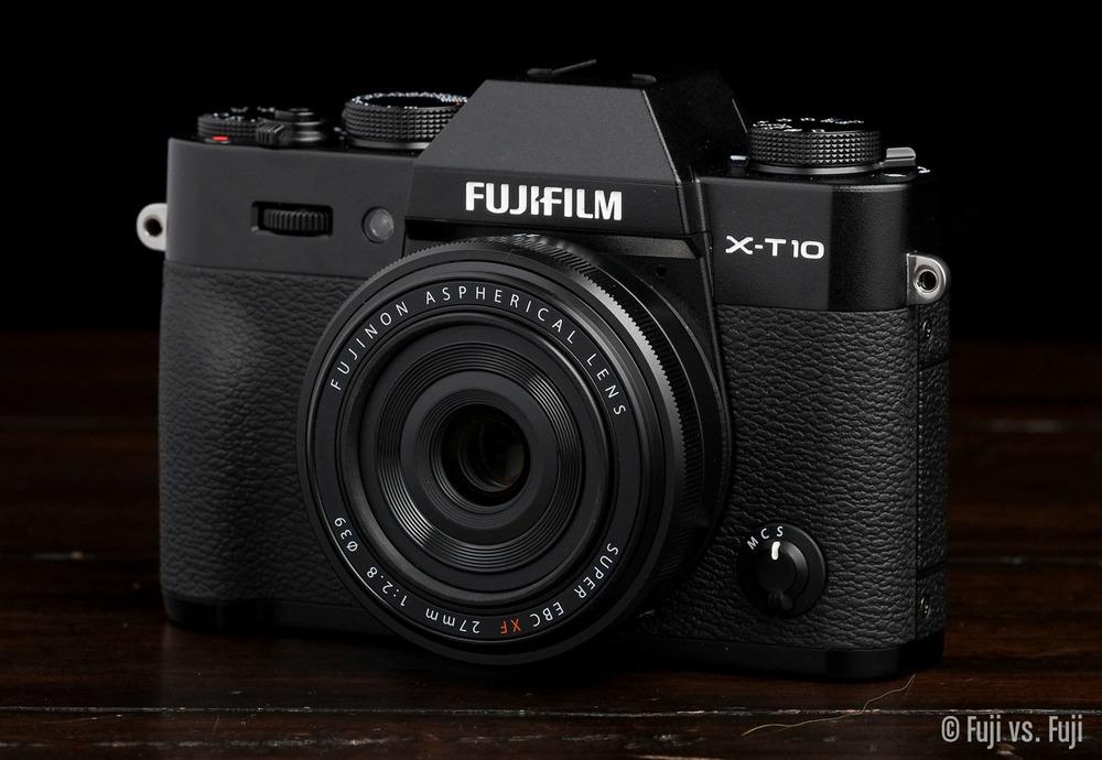 Fuji X-T10 + XF 27mm f/2.8