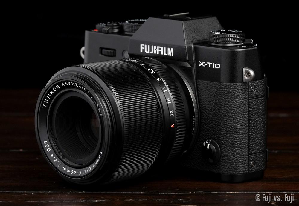 Fuji X-T10 + XF 60mm f/2.4 Macro