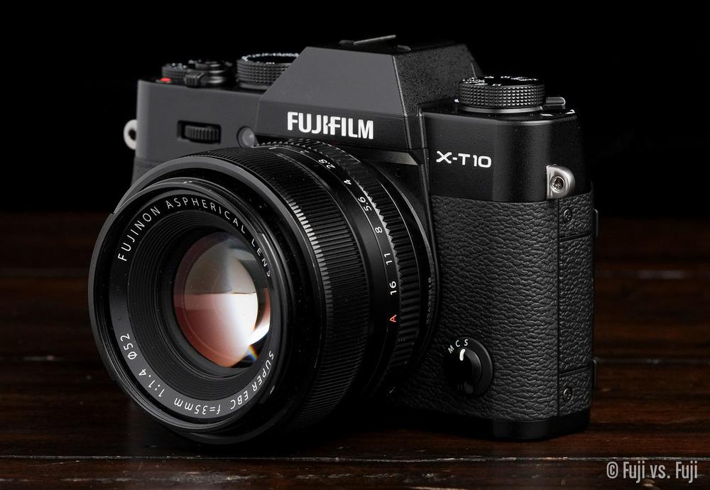 Fuji X-T10 + XF 35mm f/1.4