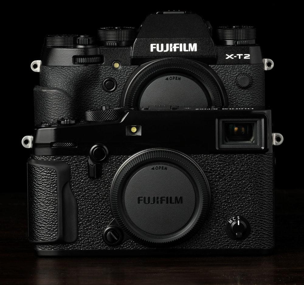 X T2 Vs Pro2 Fuji Fujifilm E3 Kit Xf 23mm F2 Black 35mm A Detailed Comparison
