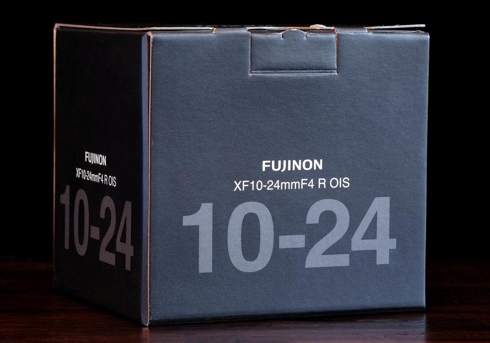 Fuji's FUJINON XF 10-24 F/4 WR OIS