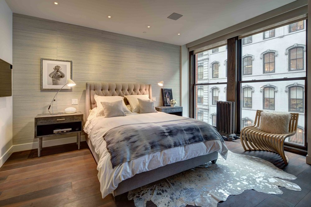 Danny forster design studio for Chambre a coucher high gloss