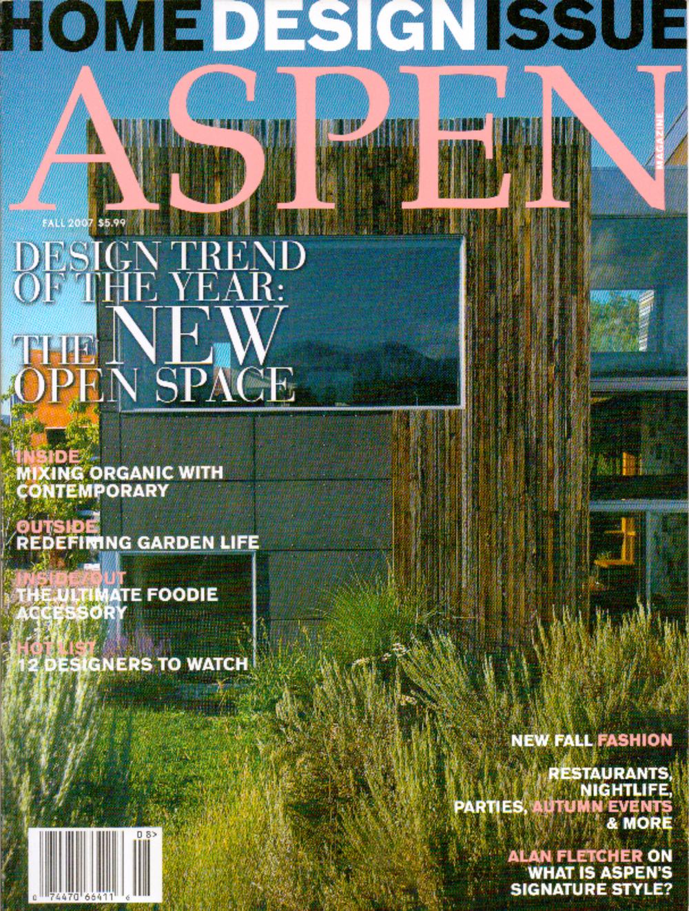 aspen magazine fall 2007