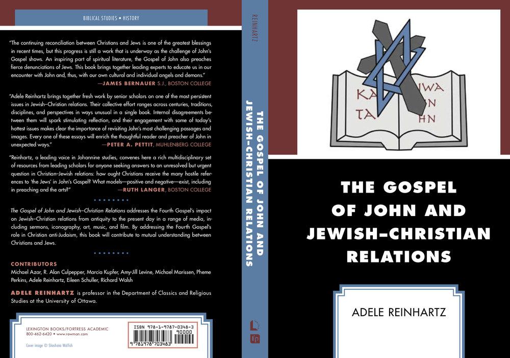 Gospel of John and JewishChristian Relations litho.jpg