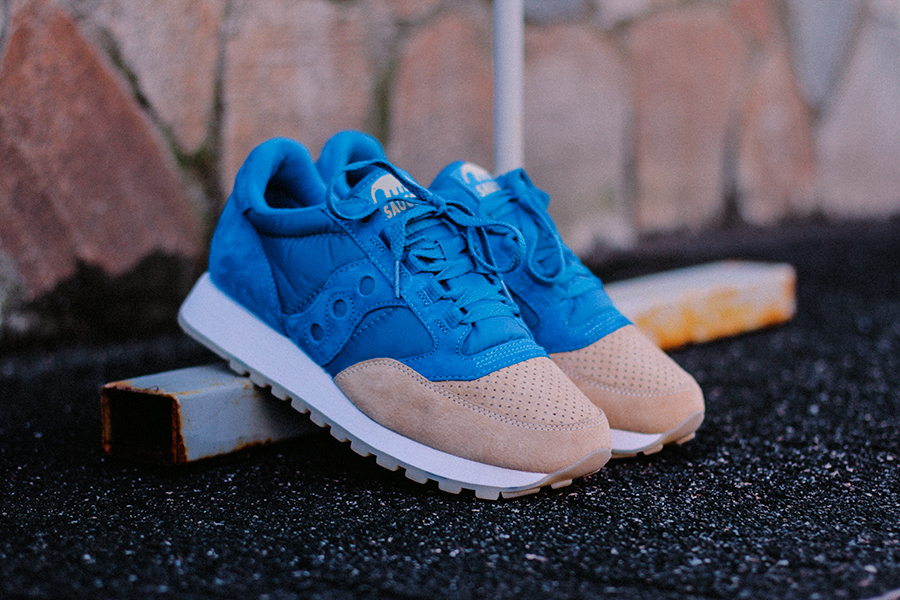 "Anteater x Saucony Jazz original ""Sea and sand""."
