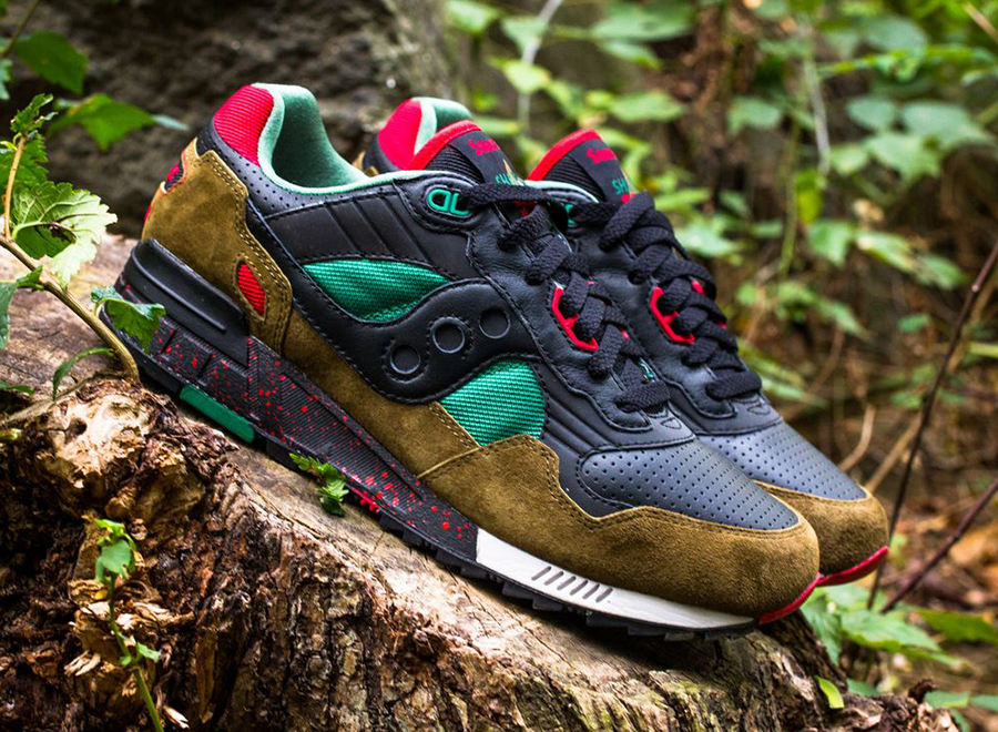 "WEST NYC x Saucony Shadow 5000 ""Cabin Fever""."