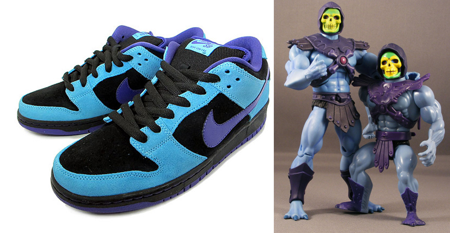 Credit to Poe Ghostal for picture of Skeletor figures