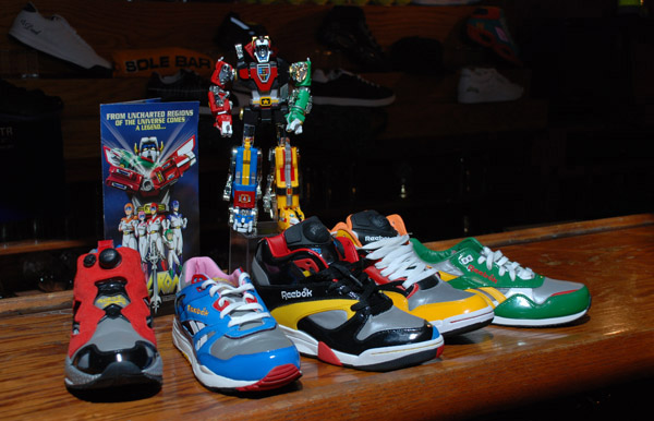 Reebok went all out with this pack, including both sneakers and toys in the box. Also: Colors.