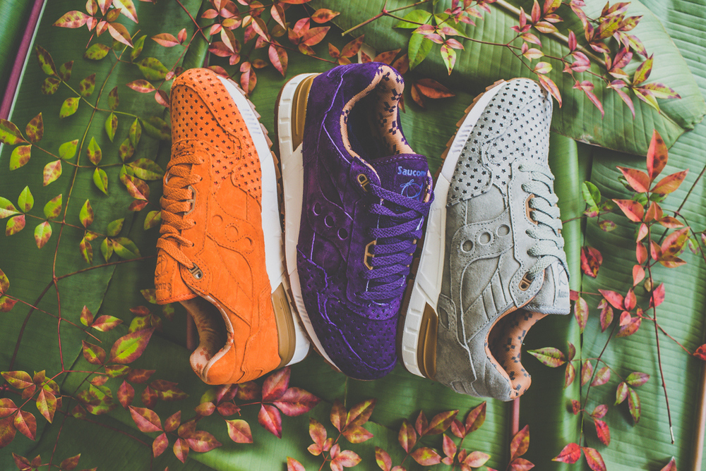 """watch 3d426 f4f20 Play Cloths x Saucony Shadow 5000 """"Strange Fruit"""" Collection."""