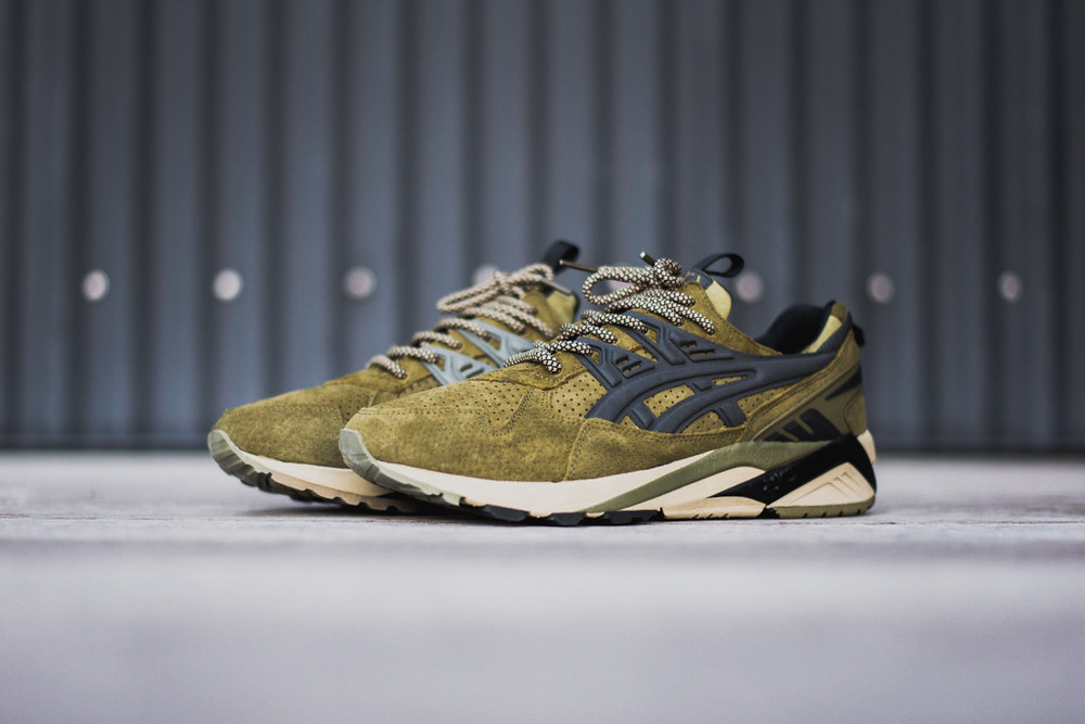 FootPatrol x Asics gel Kayano