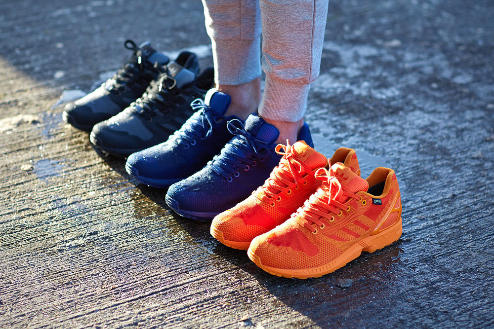 2b8bfbefe The new ZX Flux Weave OG pack- Protected by Gore-Tex