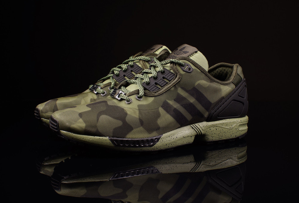 9eeaf481c6b4 Going for the army look this spring  Then the new colorways of the Adidas  ZX Flux Decon is a sure winner. Available in green