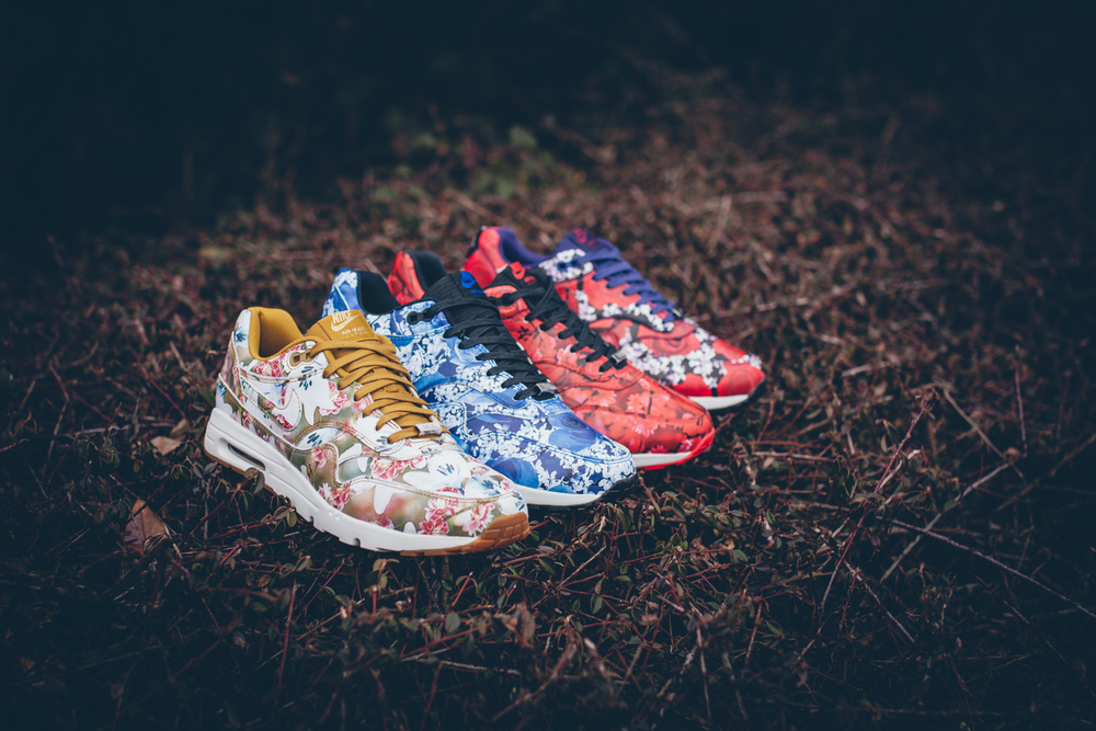 b19d122f593 The Nike Air Max 1 Ultra LOTC Pack. Inspired by the seasonal flower prints of  the respective cities New York