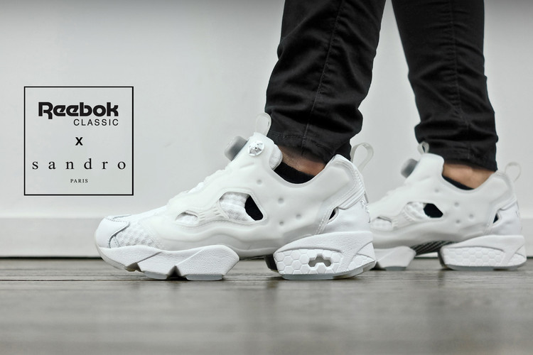 4af11a9615aa ... Fury OG The french designer team has once again teamed up with Reebok .  The All white Instapump ...