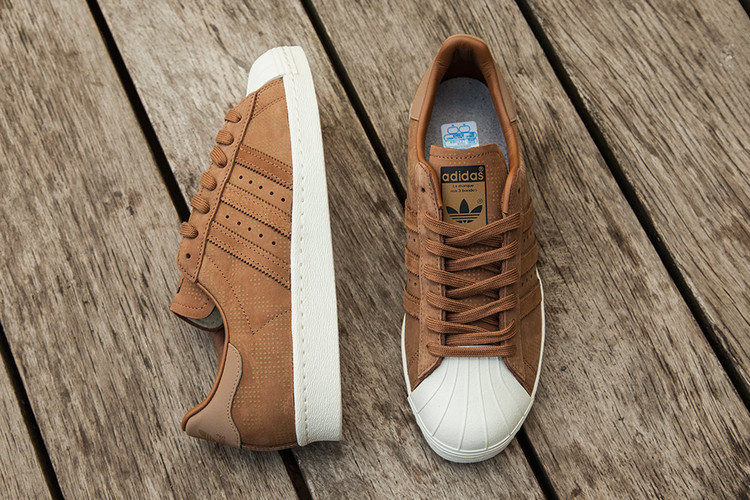 Adidas Superstar Womens Brown