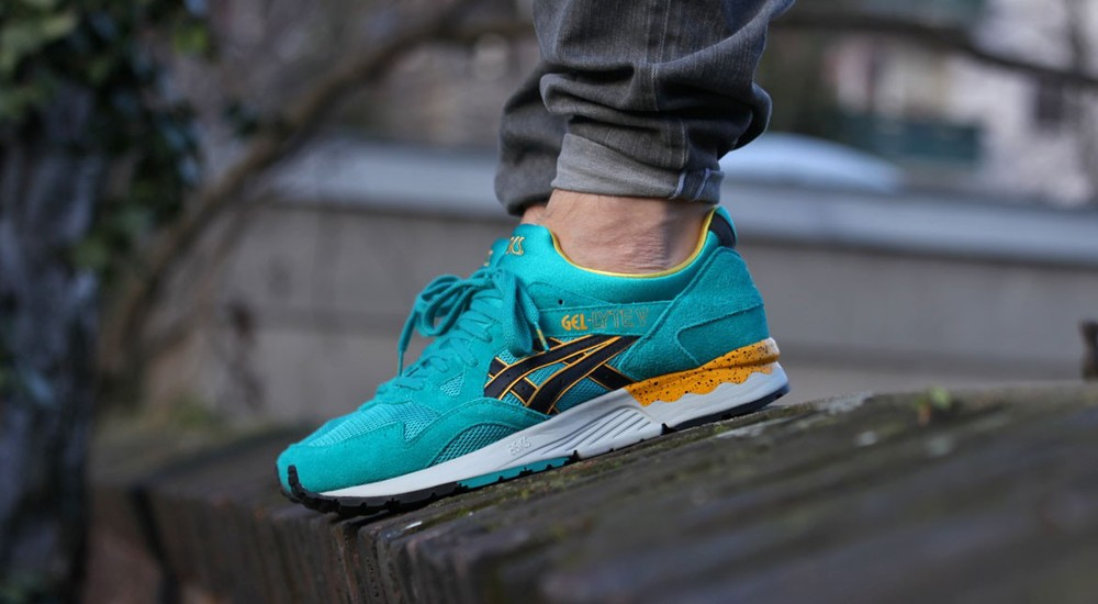"Asics gel Lyte V ""Teal pack"""