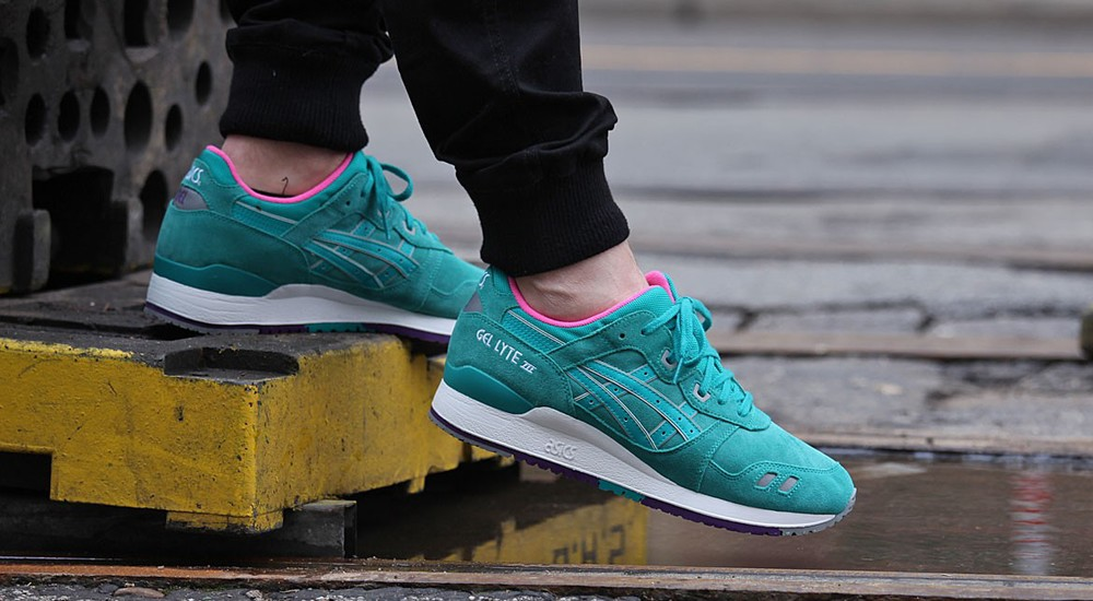 "Asics Gel Lyte III ""Tropical Green"""