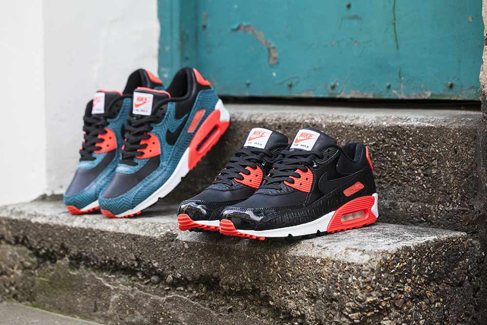 buy online 79769 79cd8 The Nike Air Max 90 25th Anniversary Black Infrared  Dusty Cactus is  available now at selected retailers such as Footpatrol.