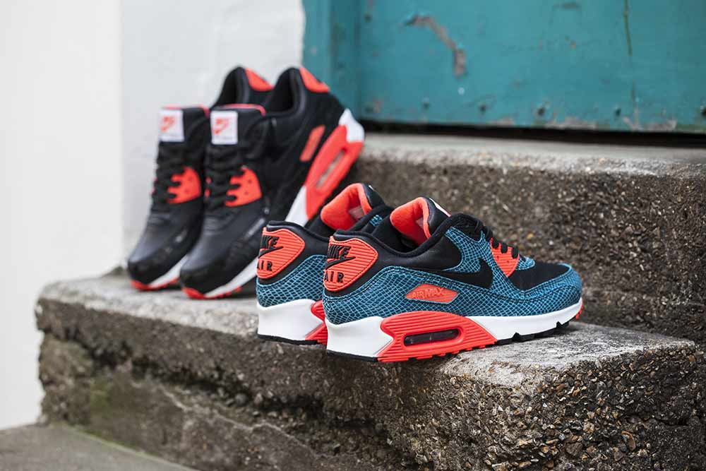 buy popular 4da85 e5fef ... new style the nike air max 90 25th anniversary black infrared dusty  cactus is available now