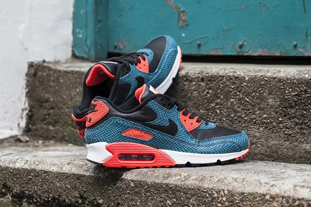 buy popular 063b7 70ba7 ... new style the nike air max 90 25th anniversary black infrared dusty  cactus is available now