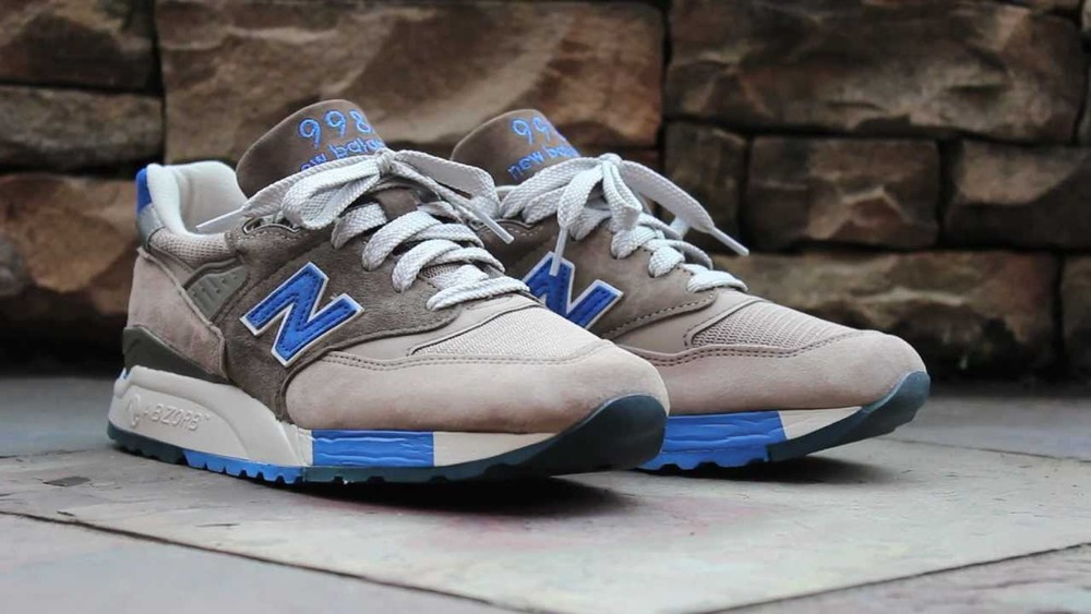 "J.crew x New Balance ""Pebble Blue"""