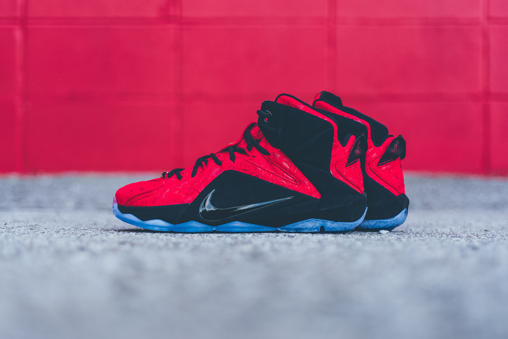 Nike LeBron XII EXT - 'Red Paisley'