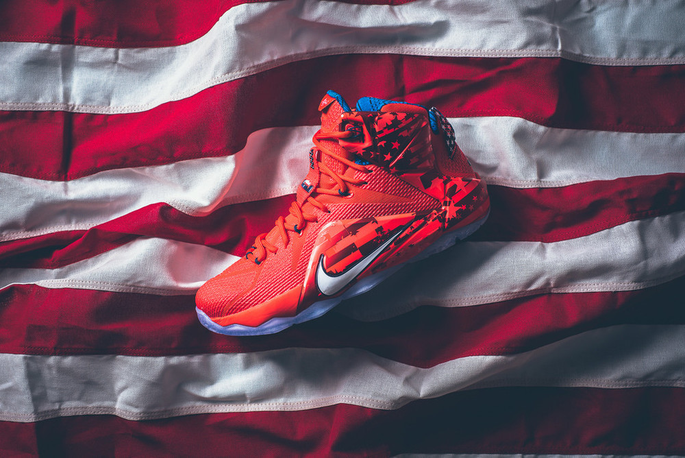 Nike LeBron XII - 'USA'