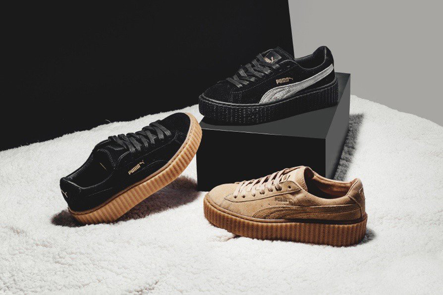 Rihanna x Puma Suede Creepers pack. — Oslo Sneaker Fest
