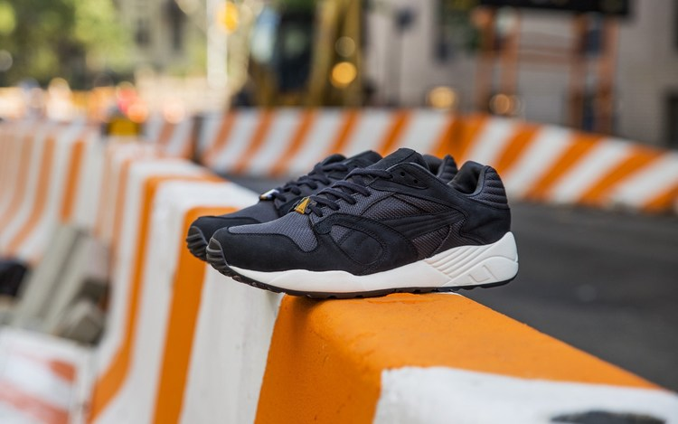 """7d773d9d65ee4 The Sneakersnstuff x PUMA XT2+ """"Erik"""" is inspired by the old Swedish  Passport. Premium navy leather upper details as well as the lining is from  the cover of ..."""