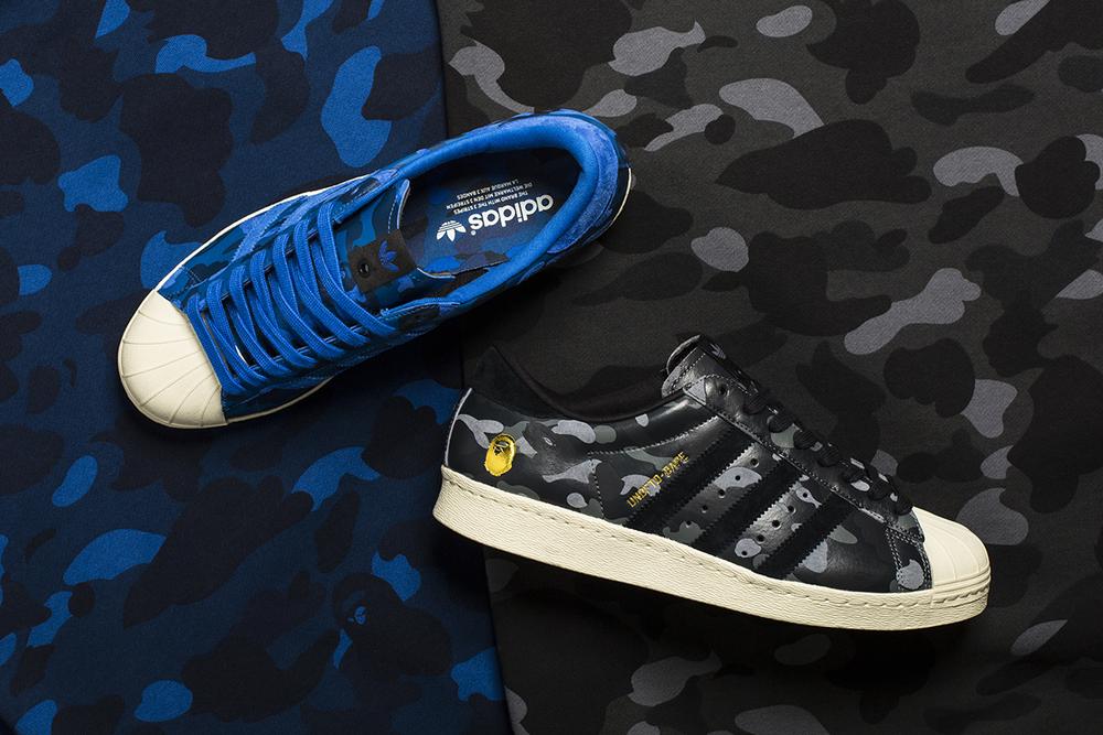 Adidas Consortium x UNDFT x BAPE Superstar 80V