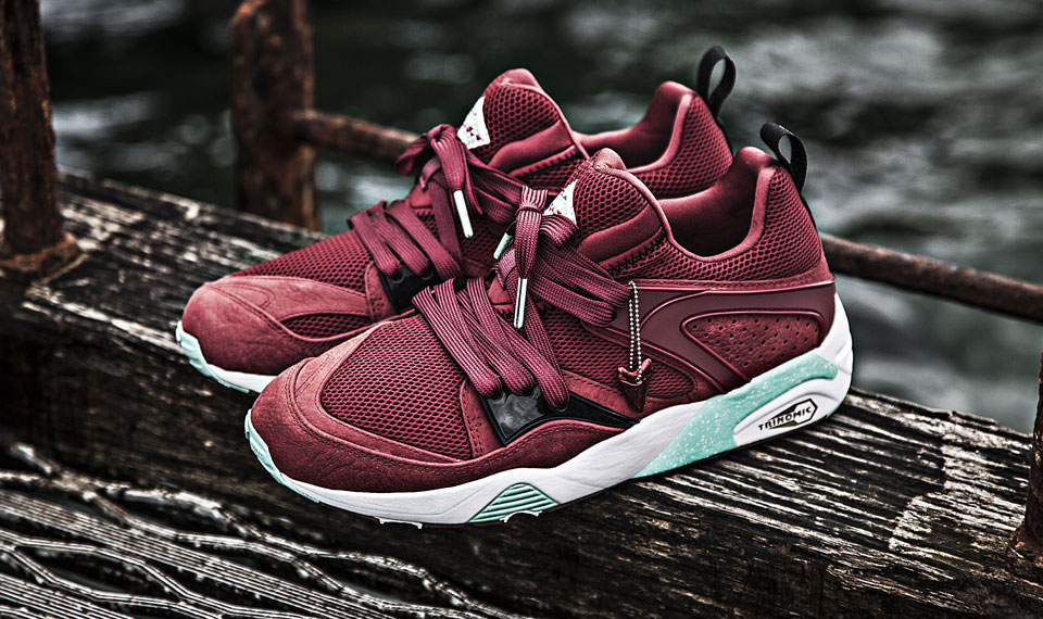 designer fashion e591b d6b50 Packer x Sneaker Freaker x Puma Blaze of Glory