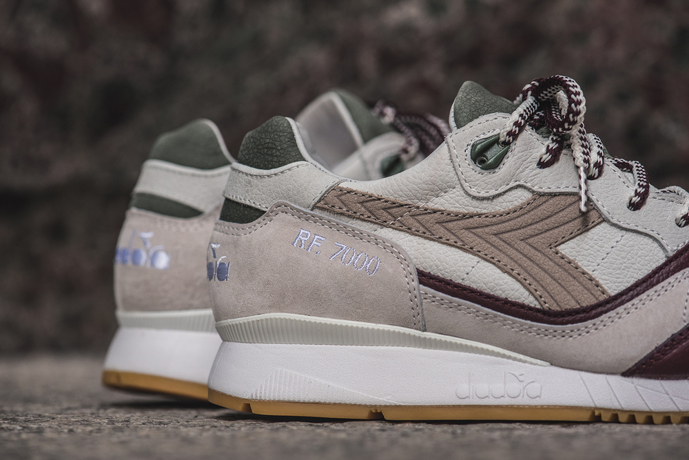 quality design 9d775 537d8 Custom packaging and three options of two-tone cotton woven laces accompany  the Ronnie Fieg x Diadora RF7000 Primo.